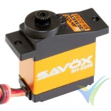 Servo digital Savox SH-0256, 15.8g, 4.6Kg.cm, 0.16s/60º, 4.8V-6V