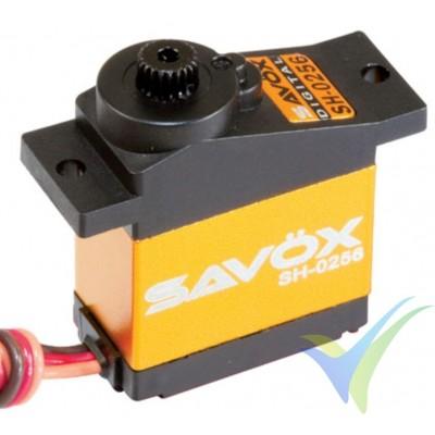Servo digital Savox SH0256, 15.8g, 4.6Kg.cm, 0.16s/60º, 4.8V-6V