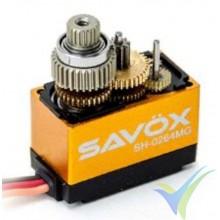Servo digital Savox SH0264MG, 15g, 1.2Kg.cm, 0.06s/60º, 4.8V-6V