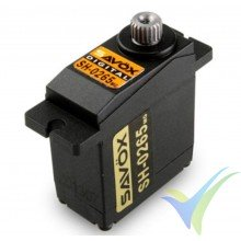 Servo digital Savox SH-0265MG, 15g, 2.4Kg.cm, 0.075s/60º, 4.8V-6V