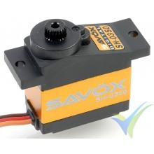 Savox micro size digital servo plastic gear 2.6Kg@6.0V