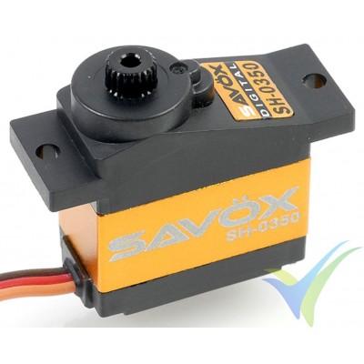 Servo digital Savox SH0350, 12.3g, 2.6Kg.cm, 0.16s/60º, 4.8V-6V