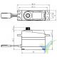 Servo digital Savox SH1257MG, 29.5g, 2.5Kg.cm, 0.07s/60º, 4.8V-6V