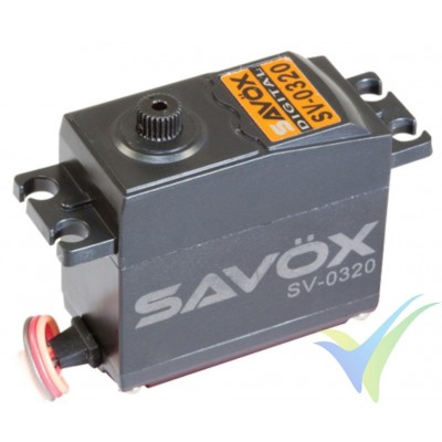 Servo digital Savox SV0320, 46g, 6Kg.cm, 0.13s/60º, 6V-7.4V