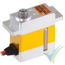 Servo digital Savox SV-1232MG HV, 23g, 5Kg.cm, 0.05s/60º, 6V-7.4V