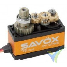 Servo digital Savox SV1257MG, 29.5g, 4Kg.cm, 0.055s/60º, 6V-7.4V