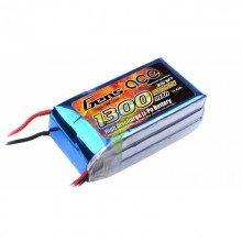 Batería LiPo Gens ace 1300mAh (14.43Wh) 3S1P 25C 108g Deans