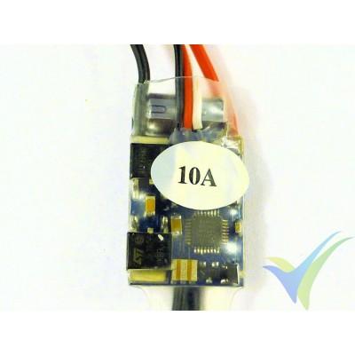 Variador brushless GEMFAN 10A, 2S-3S, BEC 1A, 9g