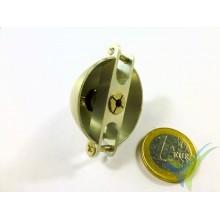 Aluminum spinner 35mm GEMFAN for two blades folding prop, 3mm motor shaft
