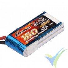 Batería LiPo Gens ace 160mAh (1.18Wh) 2S1P 30C 10.25g