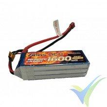 Gens ace LiPo Battery 1600mAh (17.76Wh) 3S1P 40C 149g Deans