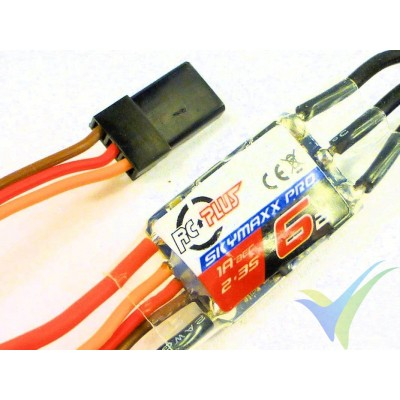 Variador brushless RC Plus Skymax Pro 6 - 6A - 2-3S - BEC 1A, 5g