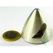 Cono aluminio precisión Protech RC 40mm para hélice bipala, eje motor 3mm, 20.9g