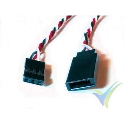 Prolongador trenzado cable de servo universal - 70cm - 0.13mm2 (26AWG)