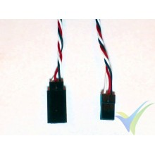 Universal servo twisted cable extender - 70cm - 0.13mm2 (26AWG)
