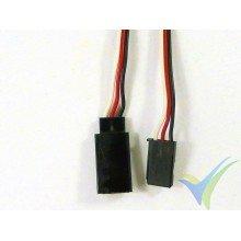 Prolongador cable de servo Futaba - 90cm - 0.13mm2 (26AWG)