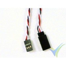 Universal servo twisted cable extender - 100cm - 0.13mm2 (26AWG)