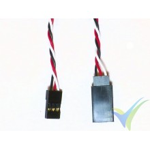 Universal servo twisted cable extender - 50cm - 0.13mm2 (26AWG)