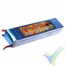 Batería LiPo Gens ace 5500mAh (81.40Wh) 4S1P 25C 536g Deans