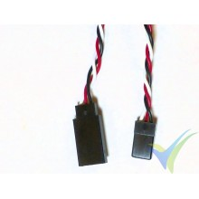 Universal servo twisted cable extender - 40cm - 0.13mm2 (26AWG)