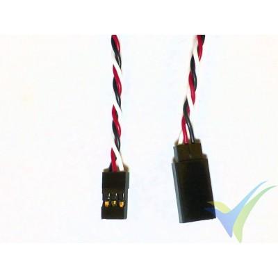 Prolongador trenzado cable de servo universal - 15cm - 0.13mm2 (26AWG)