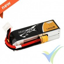 Tattu - Gens ace LiPo Battery 1800mAh (26.64Wh) 4S1P 75C Racing 214g XT60