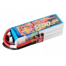 Gens ace LiPo Battery 1400mAh (31.08Wh) 6S1P 40C 260.2g