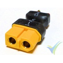 Connector adapter XT60 female to Deans male, 5.7g