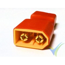 Connector adapter XT60 male to Deans female, 6.4g