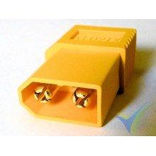 Adaptador de conector XT60 macho a Deans hembra (en una pieza), 6.4g