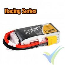 Batería LiPo Tattu - Gens ace 1300mAh (19.24Wh) 4S1P 75C Racing 165g XT60