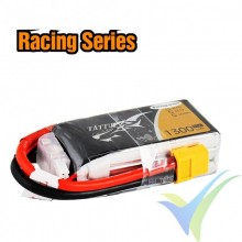 Batería LiPo Tattu - Gens ace 1300mAh (14.43Wh) 3S1P 75C Racing 129g XT60