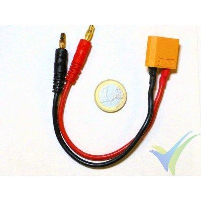 Cable de carga con conector XT90, 23.5g