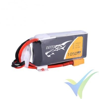 Batería LiPo Tattu - Gens ace 1050mAh (11.66Wh) 3S1P 75C 97g XT60