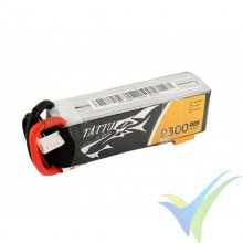 Tattu - Gens ace LiPo Battery 2300mAh (34.04Wh) 4S1P 45C 230.5g XT60
