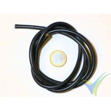 1m black silicone cable 5.26mm2 (10AWG), 1050x0.08 strands, 70.4g