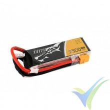 Batería LiPo Tattu - Gens ace 2300mAh (34.04Wh) 4S1P 45C 230.5g XT60