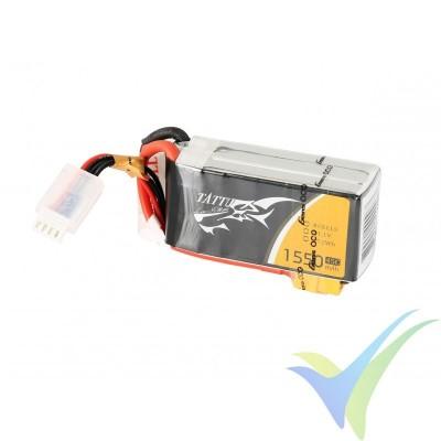 Batería LiPo Tattu - Gens ace 1550mAh (22.94Wh) 4S1P 45C 174g XT60