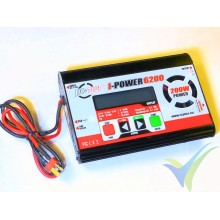 Cargador RC Plus I-Power 6200 - 200W