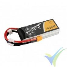 Batería LiPo Tattu - Gens ace 1400mAh (15.54Wh) 3S1P 45C 114.3g XT30