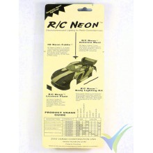 RC Neon license plate kit - yellow