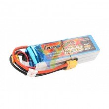 Batería LiPo Gens ace 1450mAh (32.19Wh) 6S1P 45C 270.1g XT60