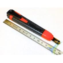 Cutter ColorMax acero 9mm, con bloqueo automático