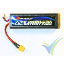 Batería LiPo Carisma 2000mAh (14.8Wh) 2S1P 25C 164g XT60