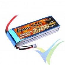 Gens ace LiPo Battery Pack 3300mAh (36.63Wh) 3S1P 25C 297g Deans