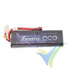 Gens ace HardCase 20# LiPo Battery Pack 3500mAh (25.9Wh) 2S1P 25C 207g Deans