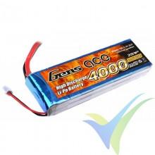Batería LiPo Gens ace 4000mAh 2S1P 25C (29.6Wh) 230g Deans
