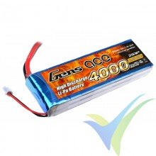 Gens ace LiPo Battery Pack 4000mAh 2S1P 25C (29.6Wh) 230g Deans