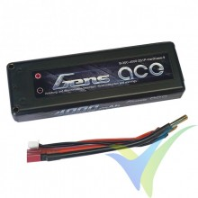 Gens ace HardCase 9# LiPo Battery Pack 4000mAh (29.6Wh) 2S1P 30C 216g Deans