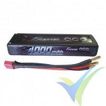 Batería LiPo Gens ace HardCase 9 4000mAh (29.6Wh) 2S1P 30C 216g Deans